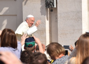 Le pape François (avril 2018) - Copyright MS